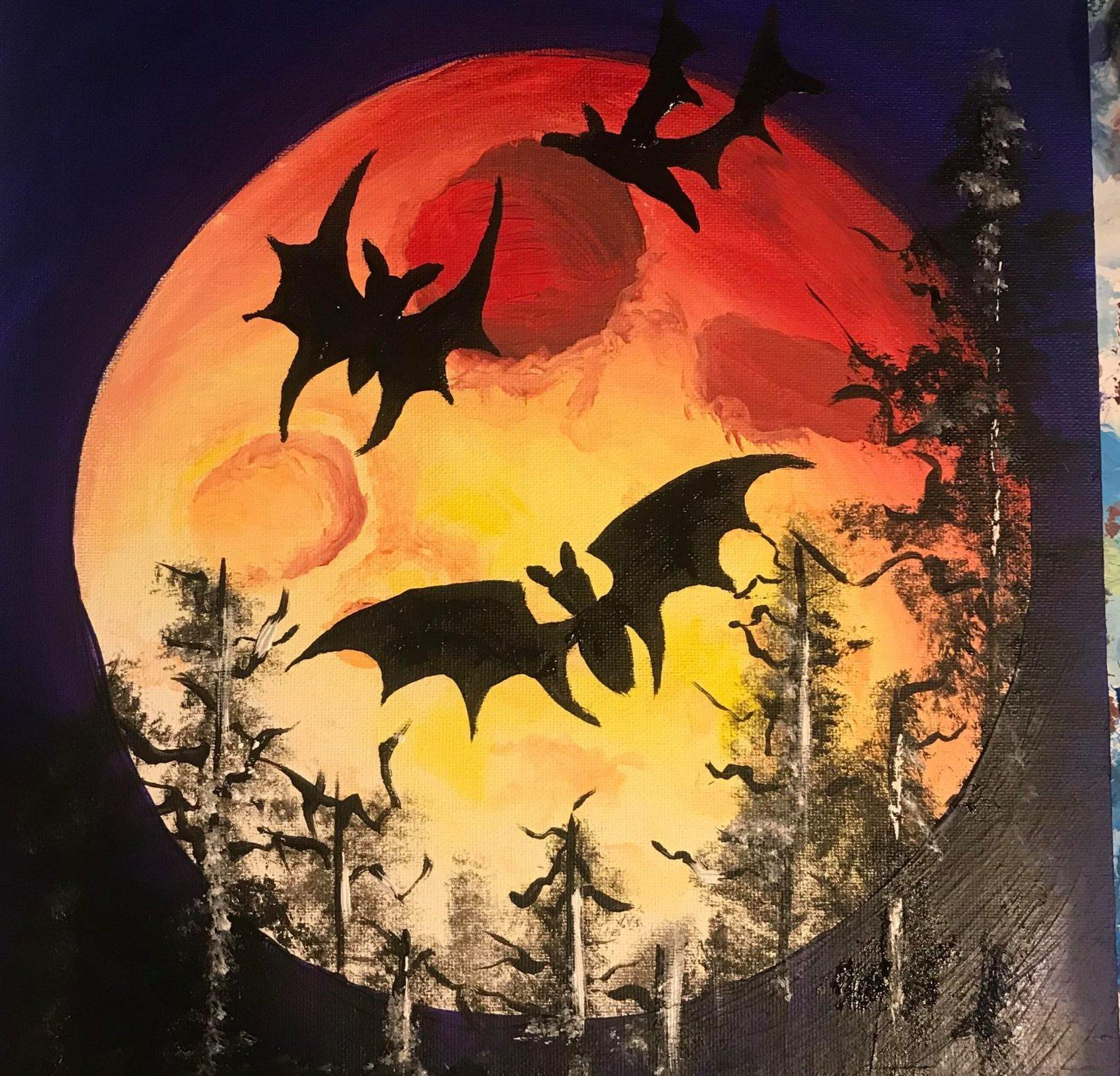 Paint n graze halloween
