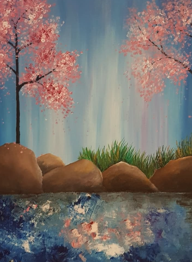 Painting Under The Stars – May