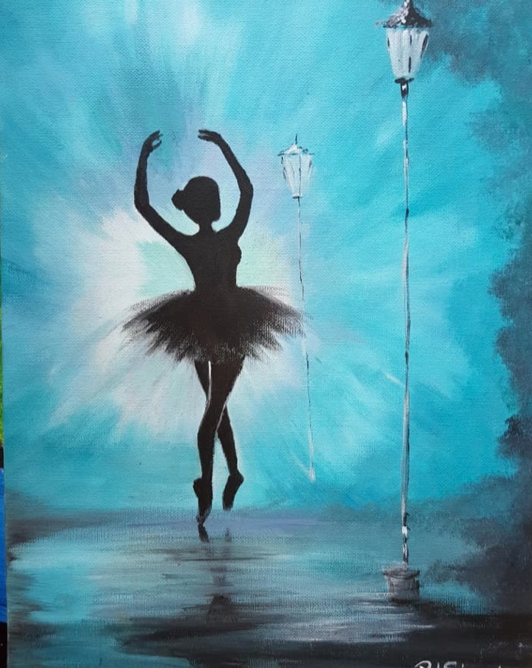 Painting Under The Stars – March