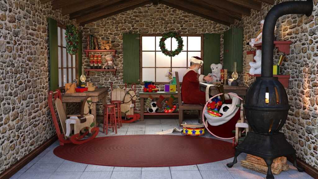 Santa's Workshop Escape Room